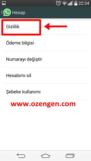 Whatsapp hesap