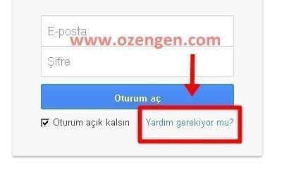 gmail yardim