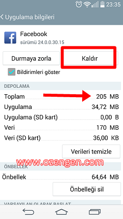 Facebook-uygulama