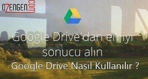 google drive kullanim