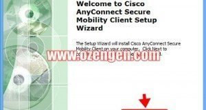 Cisco AnyConnect 1