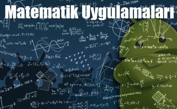 matematik uygulamalari