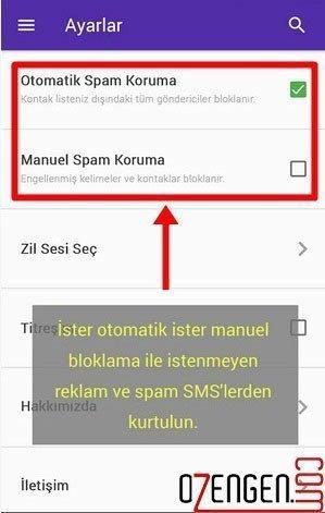 reklam sms engelleme 2
