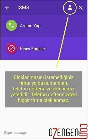 reklam sms engelleme 3