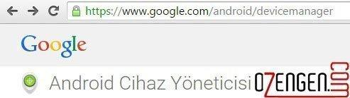 google cihaz link