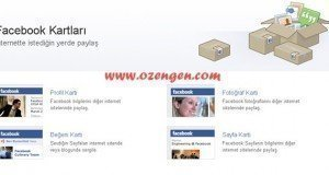 Facebook kartlari