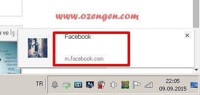 Chrome facebook