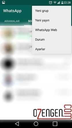 Whatsapp yeni grup