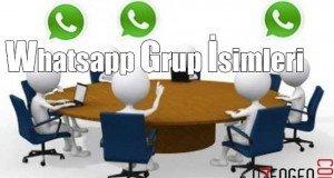 whatsapp grup isim