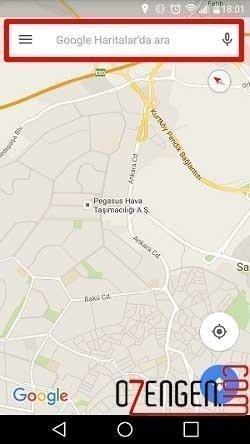 Google Navigasyon 1