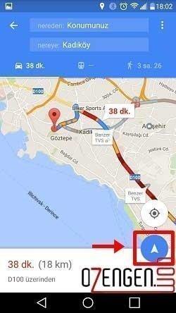Google Navigasyon 4