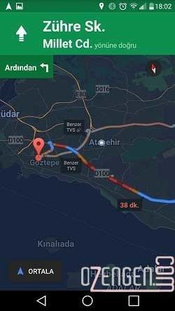 Google Navigasyon 5