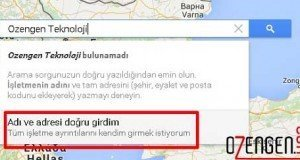 Google haritalar ekleme 2