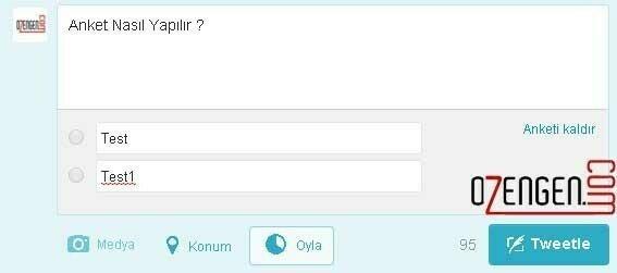 Twitter anket
