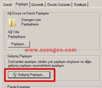 Win 7 paylasim