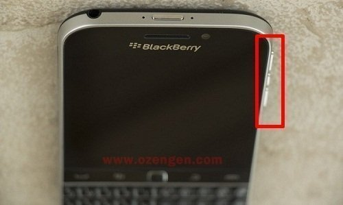 blackberry ekran