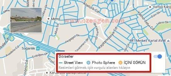 street view harita