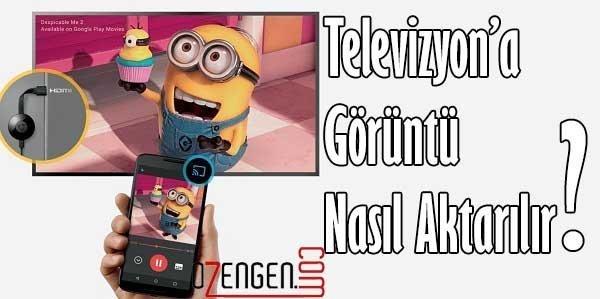 telefon ve televizyon