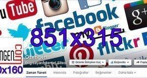 Facebook boyutlar