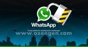 Whatsapp uçtan uca şifreleme