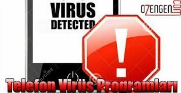 telefon virus programlari