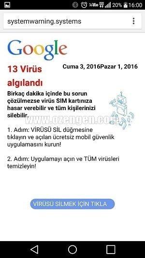 13 virus algilandi 2
