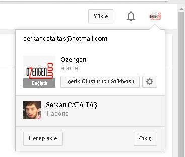 Youtube ayarlar