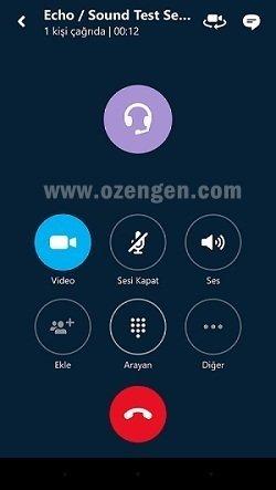 skype arama