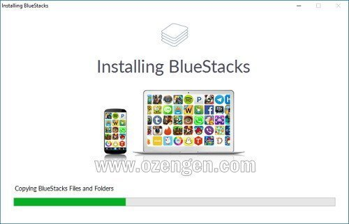 BlueStacks yukleme