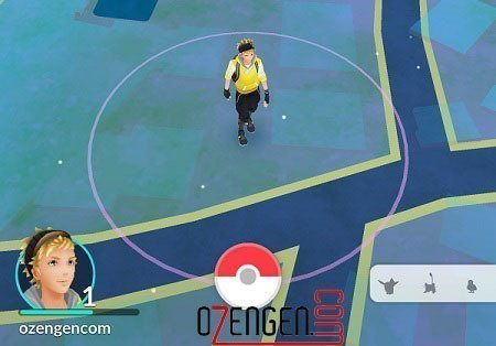 Pokemon go gezi