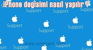 iphone degisim