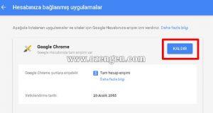 Google uygulama izinleri
