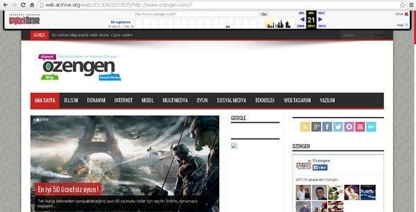ozengen domain gecmisi 2