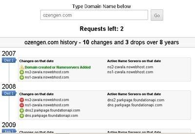 ozengen domain gecmisi 3