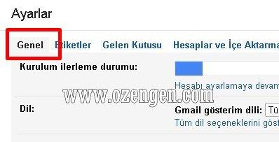 Gmail genel