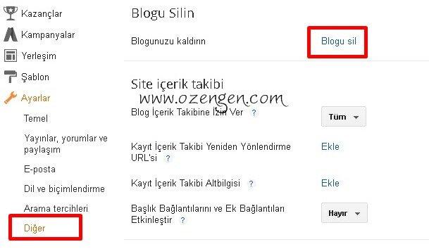 blogger-diger-ayarlar