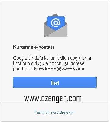 kurtarma-e-posta