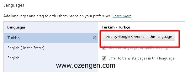 chrome-turkish