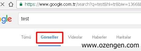 google-gorseller