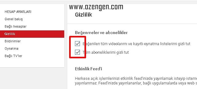 youtube-gizlilik