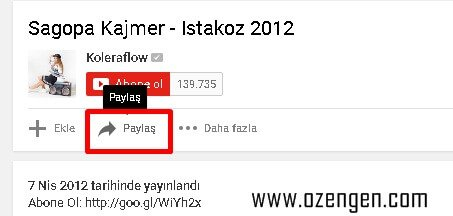 youtube-paylas