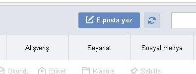 Yandex eposta yaz