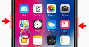 iPhone X ekran goruntusu