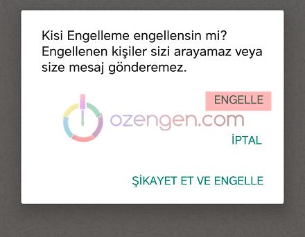 Whatsapp engel