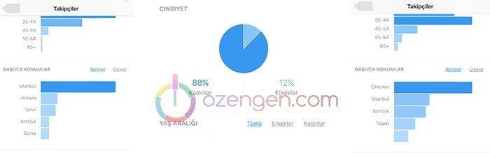 instagram istatistikler
